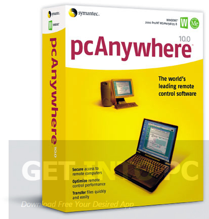 pcanywhere windows 7
