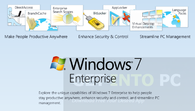 Download Windows 7 Enterprise ISO
