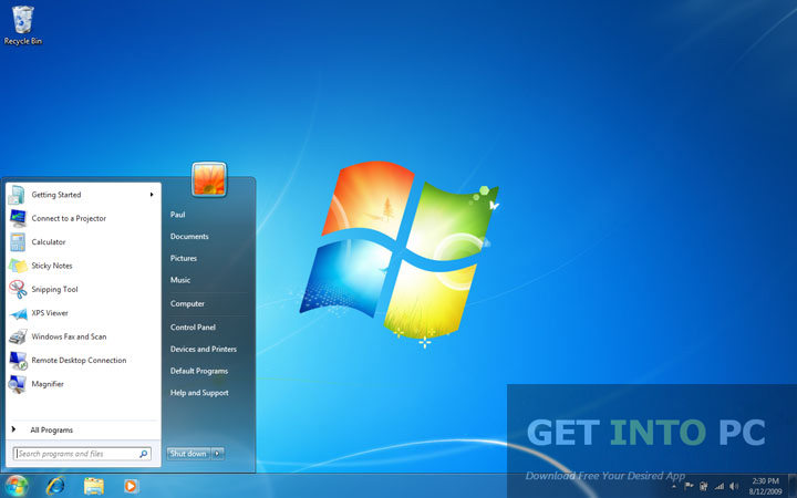 Windows 7 Professional 32bit 64 Bit Latest ISO Download