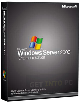 Windows Server 2003 Enterprise 64 bit Free Download