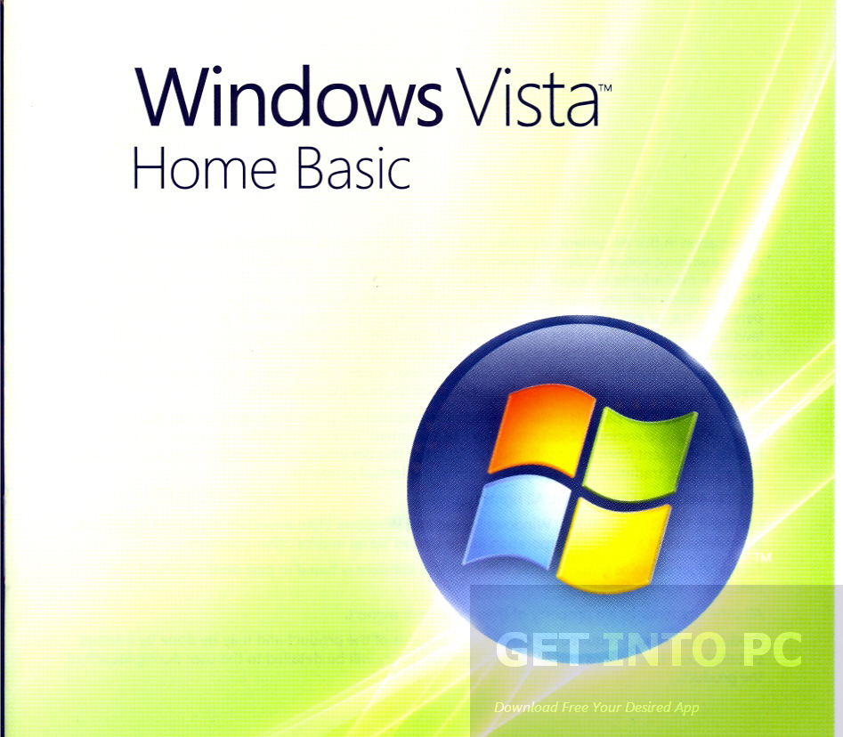 Windows Vista Home Basic Download ISO 32 Bit 64 Bit Direct Link