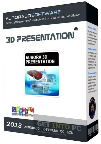 Aurora 3D Presentation Offline Installer Download
