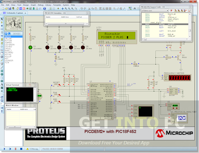 proteus pcb design software free download