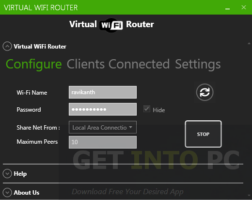 Virtual WiFi Router Direct Link Download