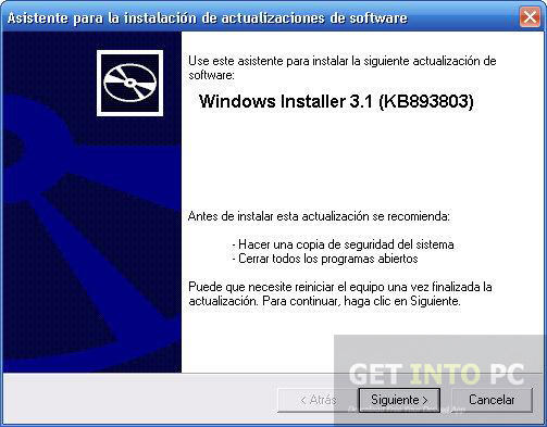 Windows Installer 3.1 Offline Installer Download