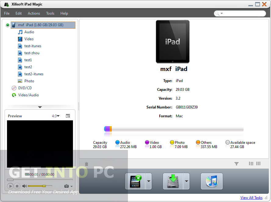 Xilisoft ipad magic platinum 4.0.0.1228