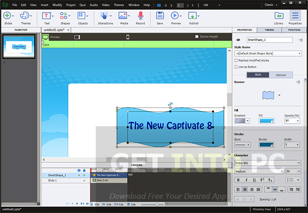 Adobe Captivate 8 Direct Link Download