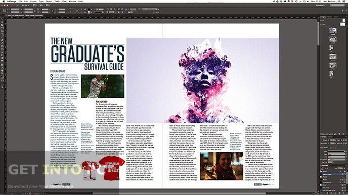 Adobe indesign cc 2014 free download for Adobe indesign magazine templates free download