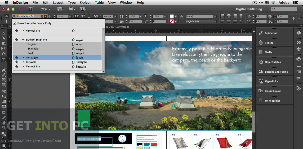 free trial adobe indesign
