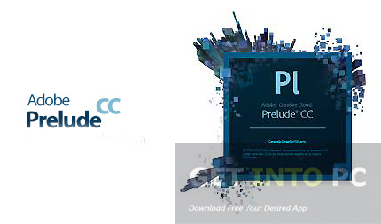 Adobe Prelude CC 2014 Direct Link Download