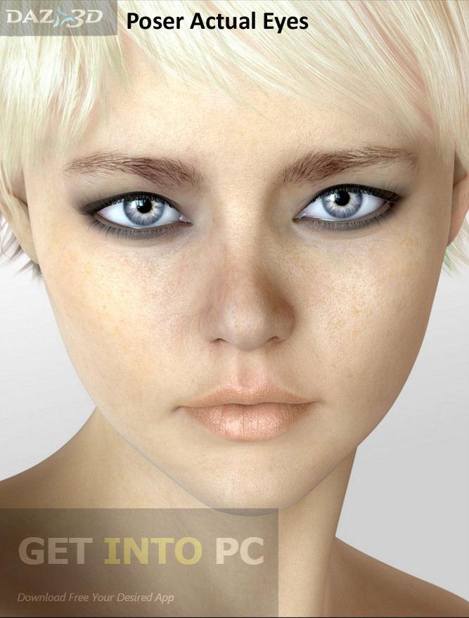 Daz3D Poser​ ​Actual Eyes Direct Link Download