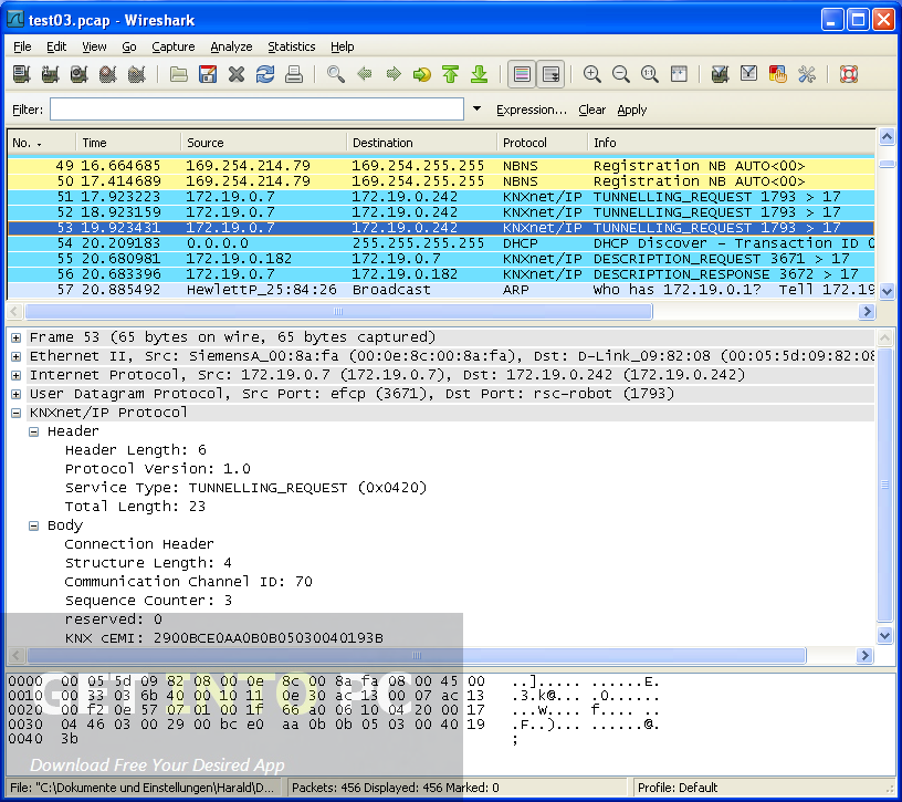 Download Wireshark Setup exe