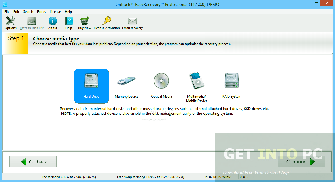 download easy recovery essentials for free