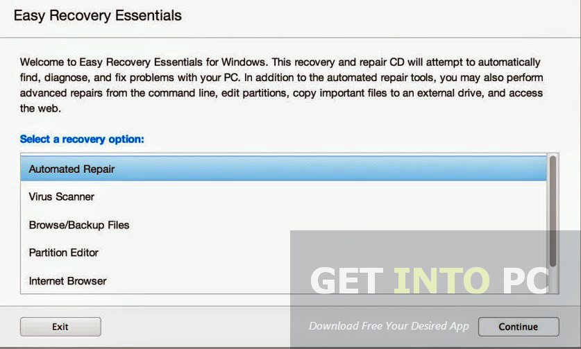 Easy Recovery Essentials Pro Offline Installer Download