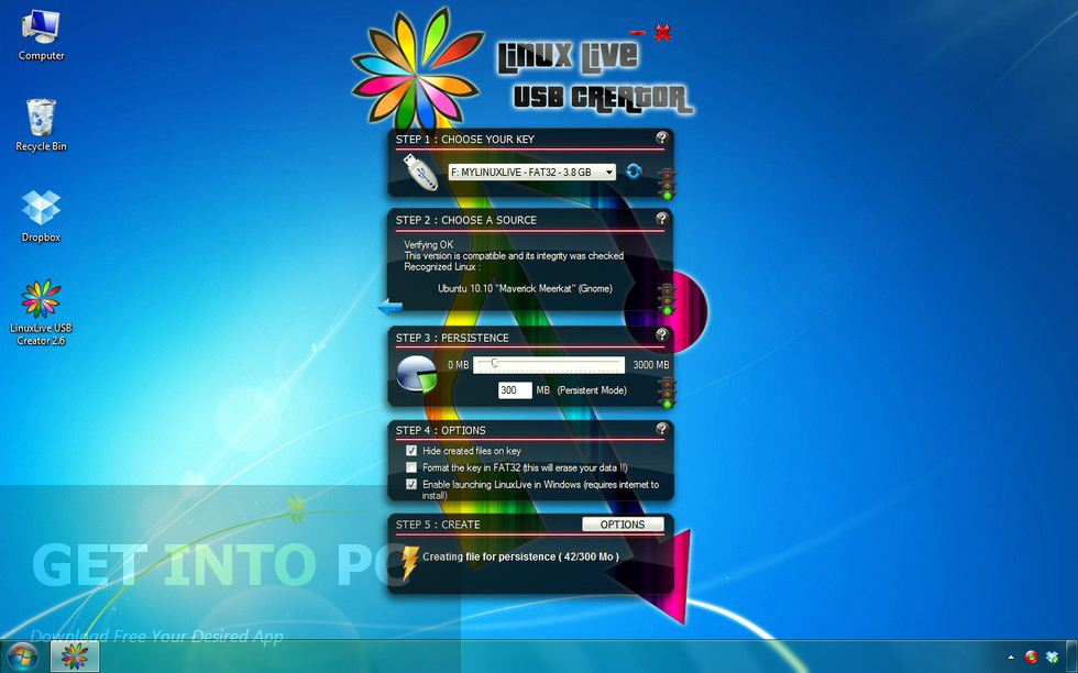 Linux Live USB Creator LAtest Version Download