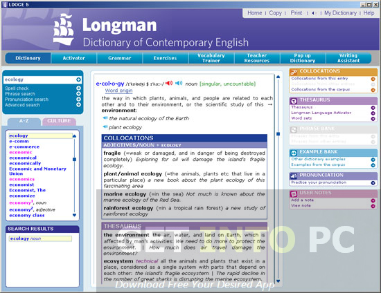 Longman Dictionary Of Contemporary English Direct Link Download