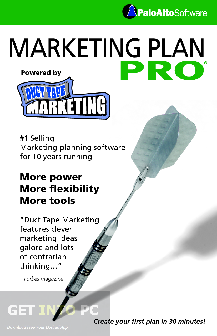 Marketing Plan Pro Latest Version Download