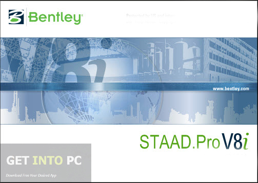 STAAD Pro V8i Free Download