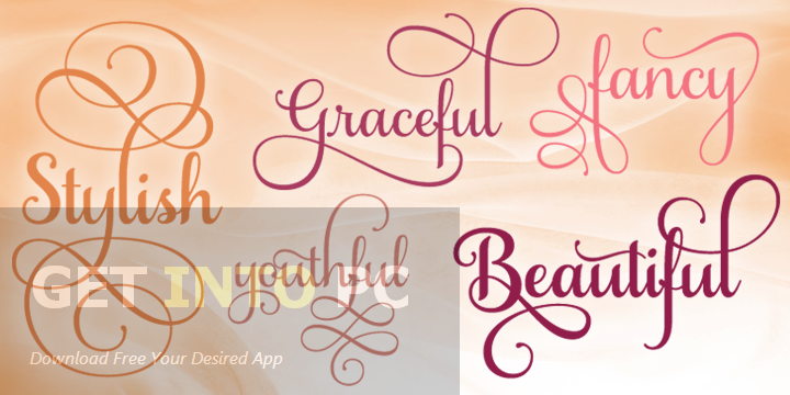 Samantha Script Font Family Free Download
