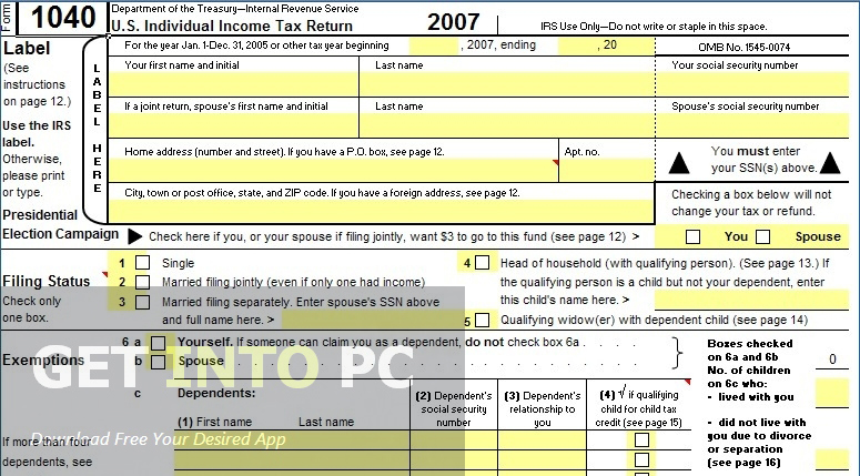 Tax Assistant for Excel Professional Latest Version Download