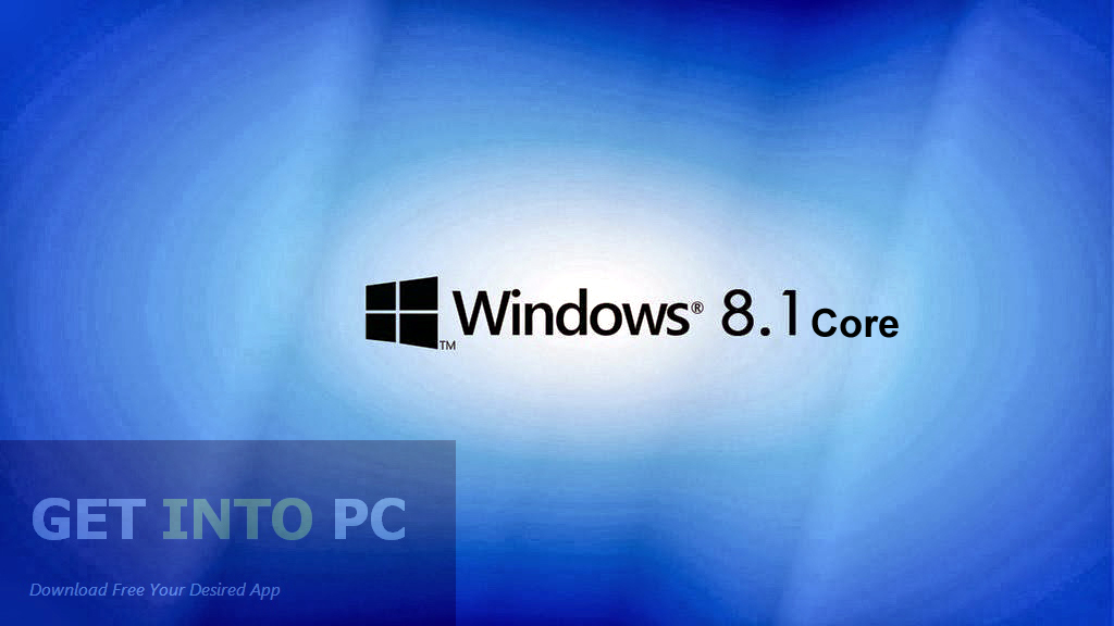 Windows 8.1 Core Free Download ISO 32 Bit 64 Bit