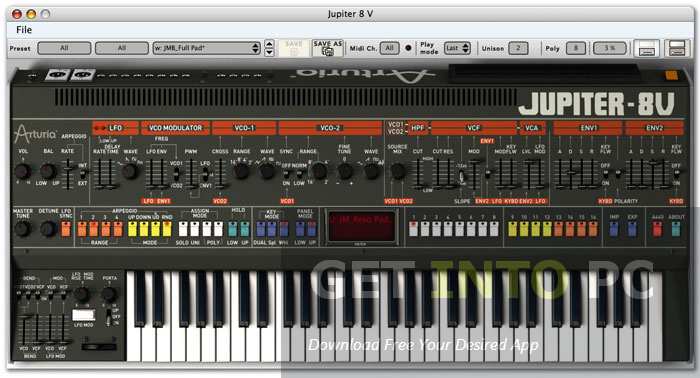 Arturia Jupiter Free Download