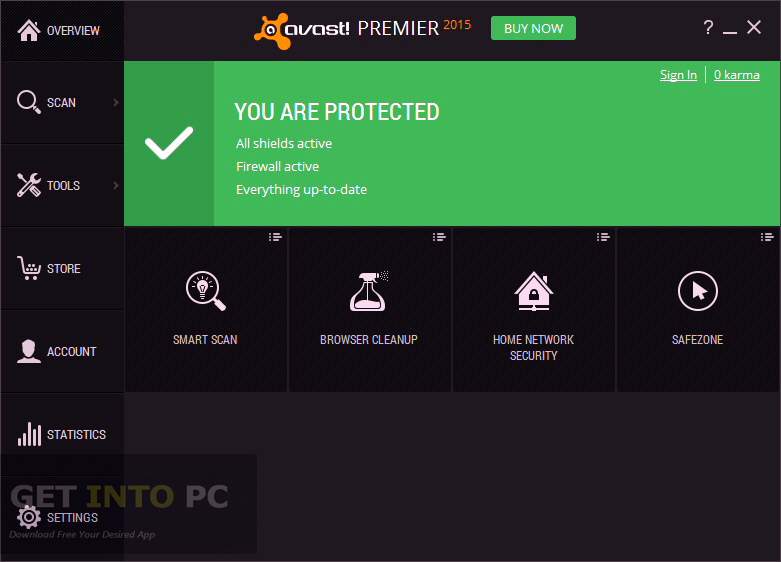 avast disable internet protection