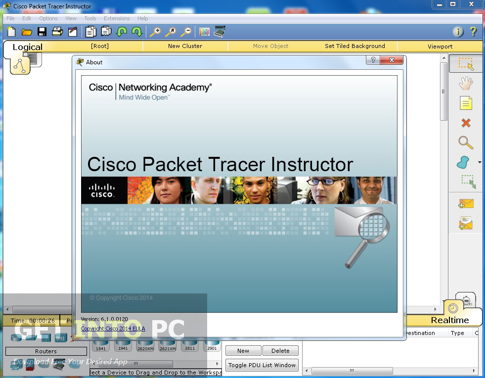 Cisco Packet Tracer Instructor version Free Download