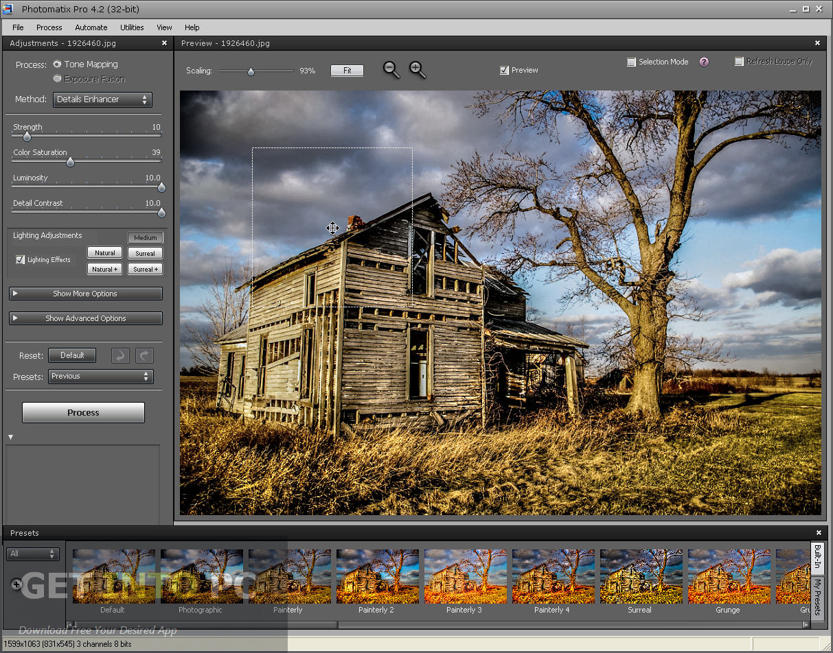 Download HDRsoft Photomatix Pro Setup exe