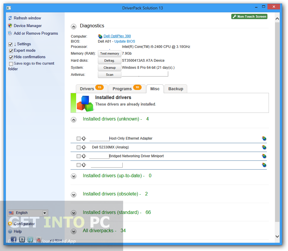 DriverPack Solution 14.11 Latest Version Download
