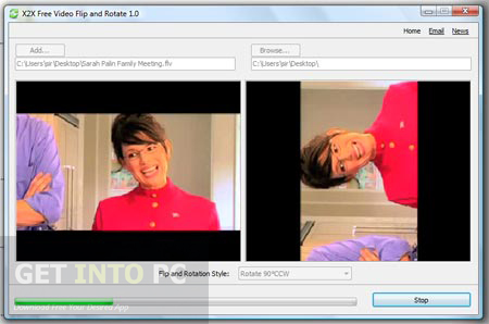 video flip rotate free download