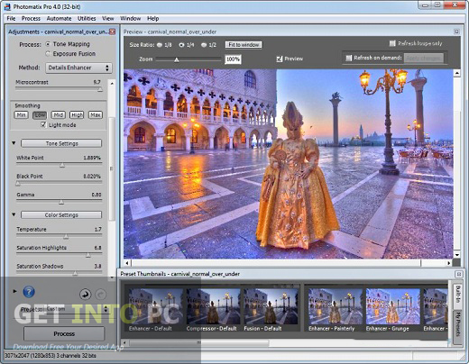 HDRsoft Photomatix Pro Direct Link Download
