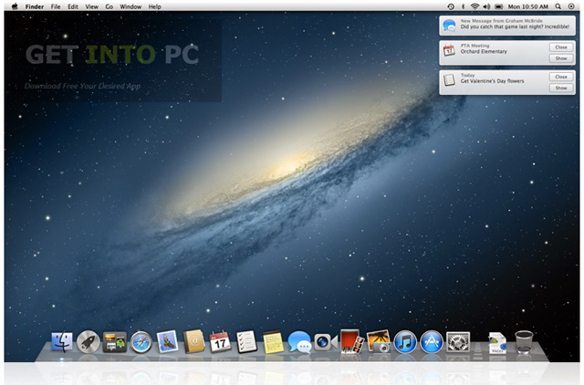 Mac OS X Mountain Lion Free Download