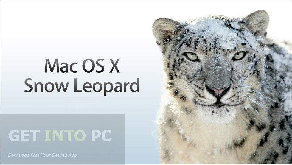 Mac OS X Snow Leopard 10.6.3 DMG Download