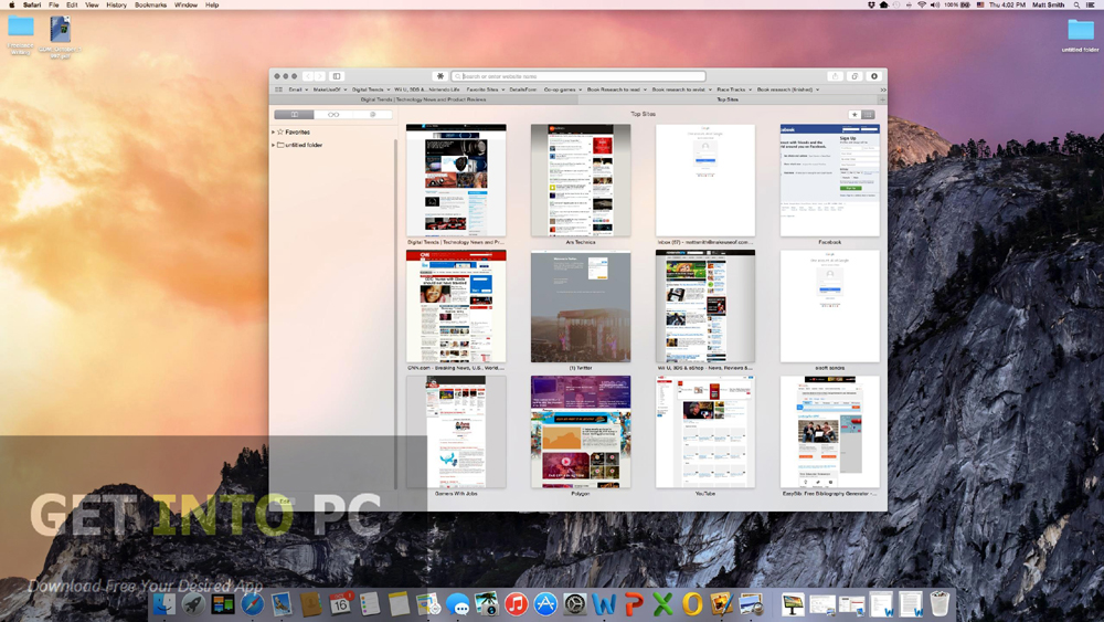 Mac OS X Yosemite Direct Link Download