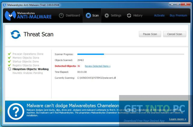 Malwarebytes Anti-Malware Premium Direct Link Download