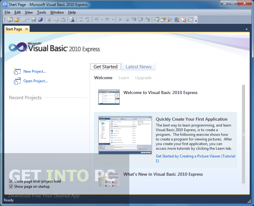 Microsoft Visual Studio Express 2010 Edition Offline Installer ISO