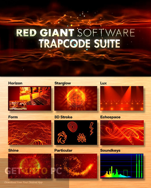 Red Giant Trapcode Suite Free Download