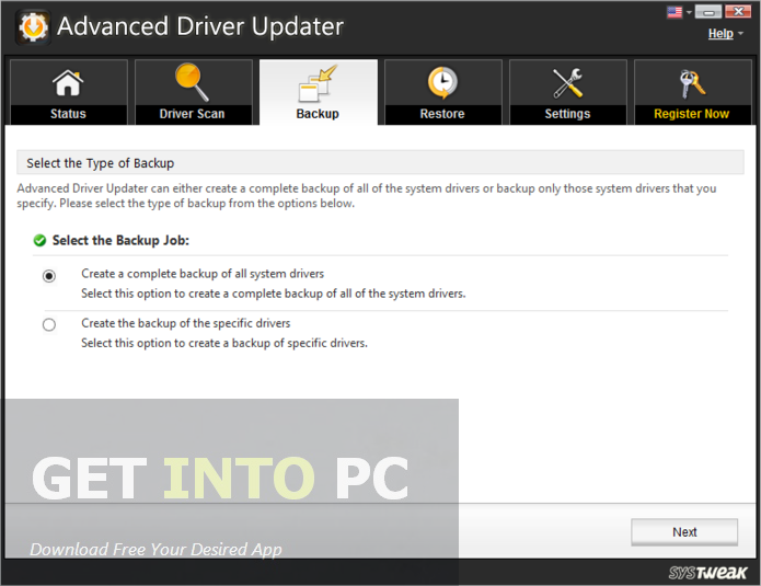 Systweak Advanced Driver Updater Offline Installer Download