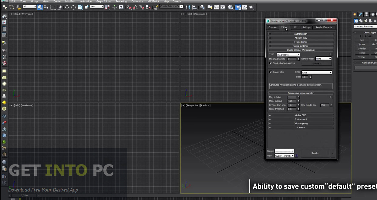 VRay Adv for 3Ds Max Direct Link Download
