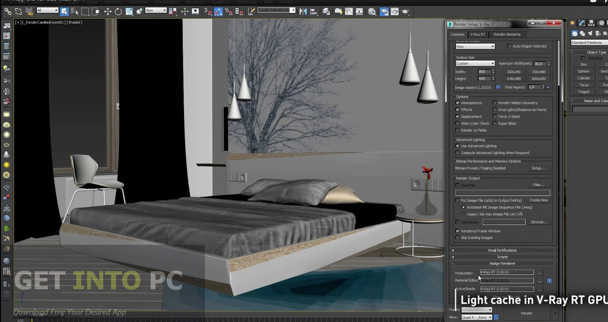 VRay Adv for 3Ds Max Latest Version Download