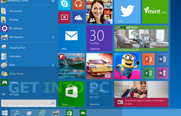 Windows 10 All in One 64 Bit ISO Bootable Download