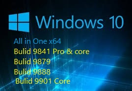 Windows 10 All in One 64 bit ISO