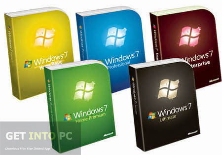 Windows 7 All in One ISO Bootable Image Download
