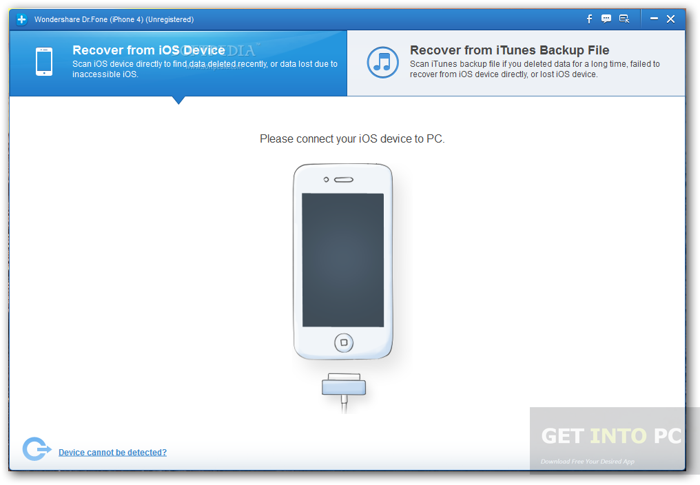 Wondershare Dr.Fone for iOS Direct Link Download