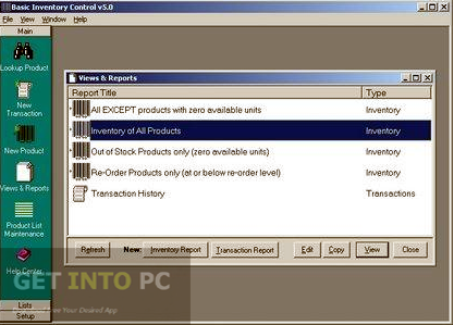 Basic Inventory Control Direct Link Download