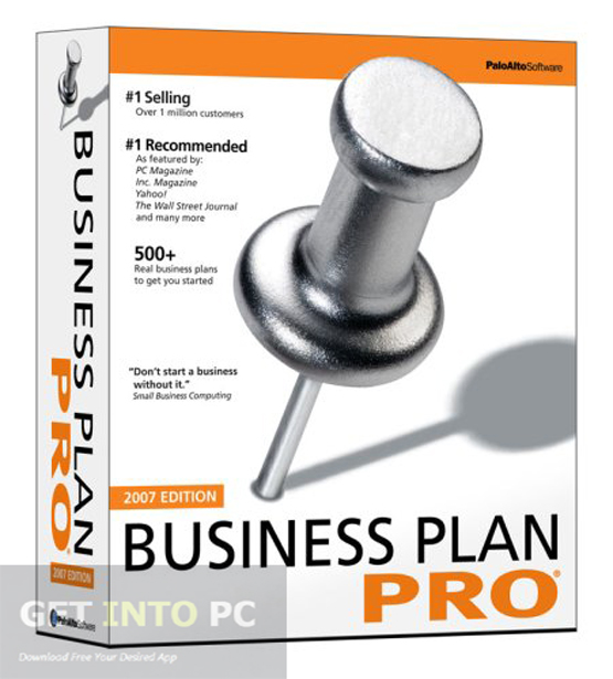Palo Alto Business Plan Pro 2007 serial number