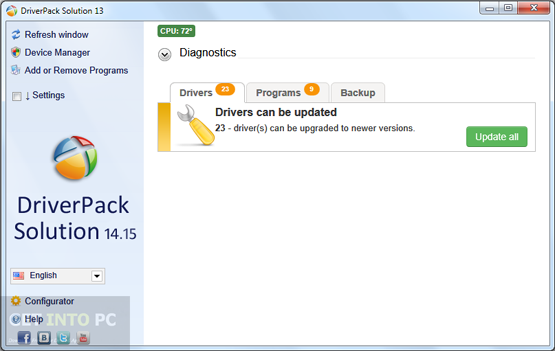 DriverPack Solution 14.15 Direct Link Download