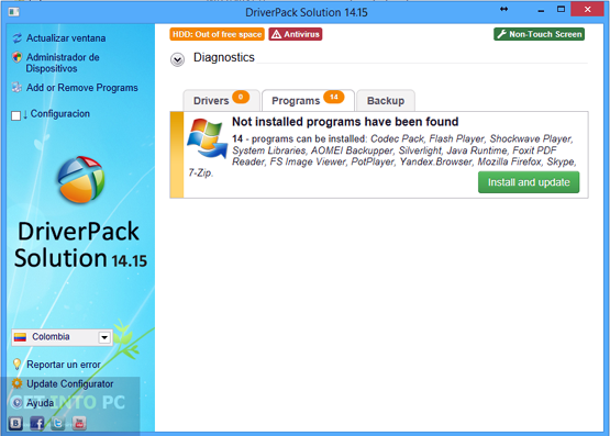 DriverPack Solution 14.15 Latest Version Download