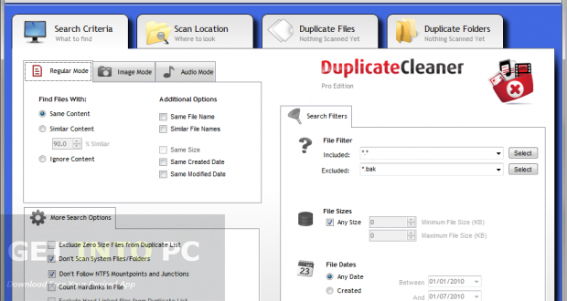 Duplicate Cleaner Pro Direct Link Download